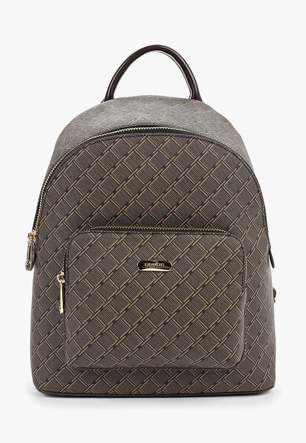 женский рюкзак fabretti, коричневый