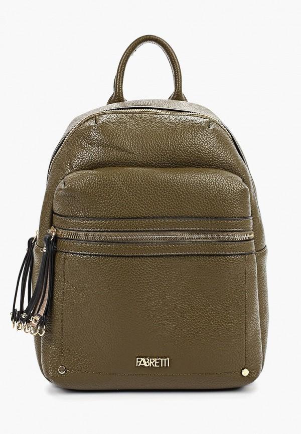 женский рюкзак fabretti, хаки