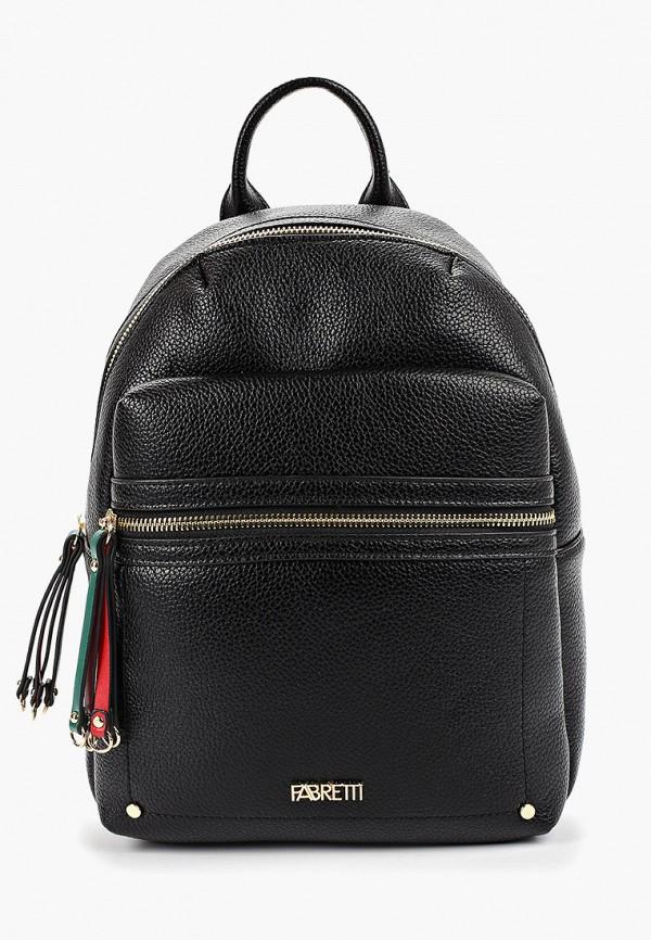 женский рюкзак fabretti, черный