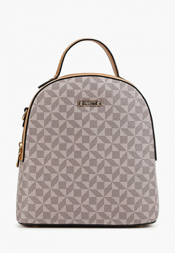 женский рюкзак fabretti, бежевый