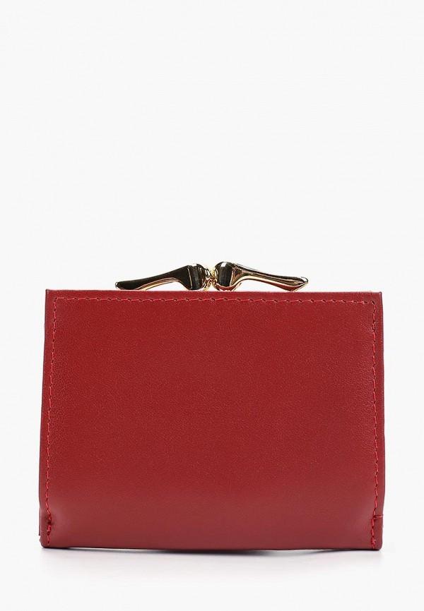 Фото 2 - женский кошелек или портмоне Fabretti красного цвета