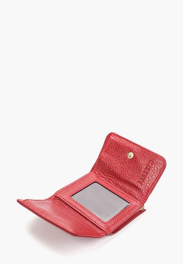 Фото 3 - женский кошелек или портмоне Fabretti красного цвета