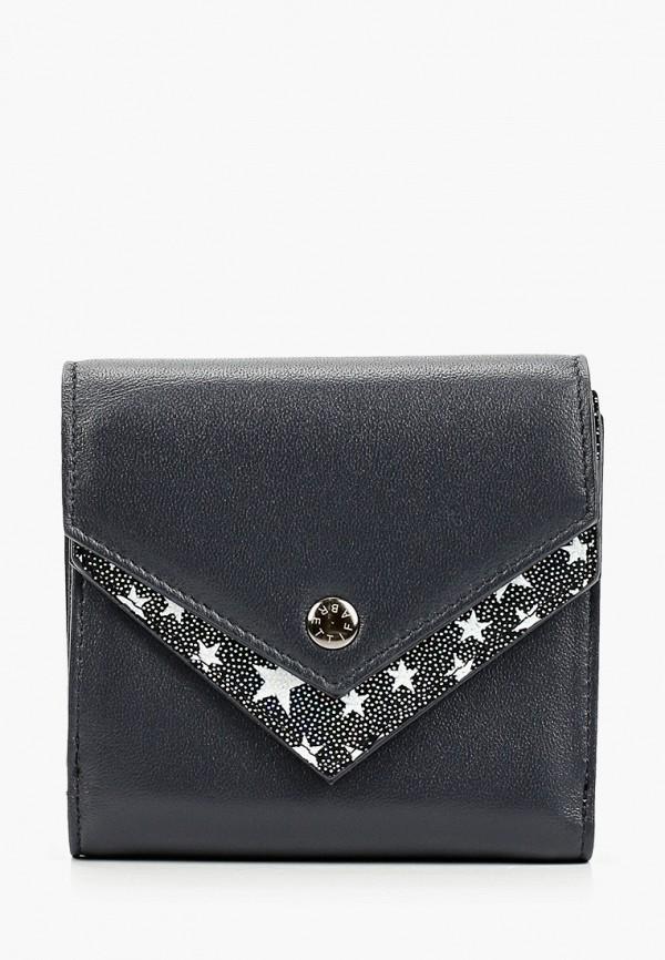 женский кошелёк fabretti, синий