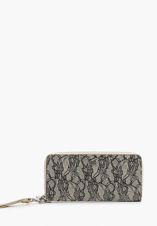 женский кошелёк fabretti, бежевый