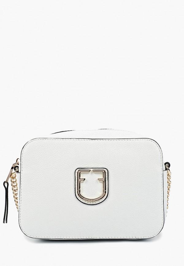 женская сумка fabretti, белая