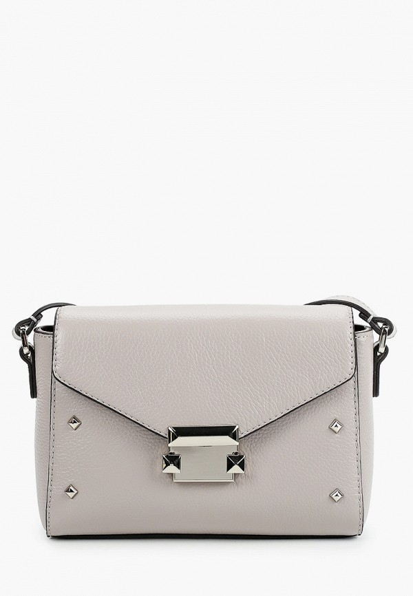 женская сумка через плечо fabretti, серая