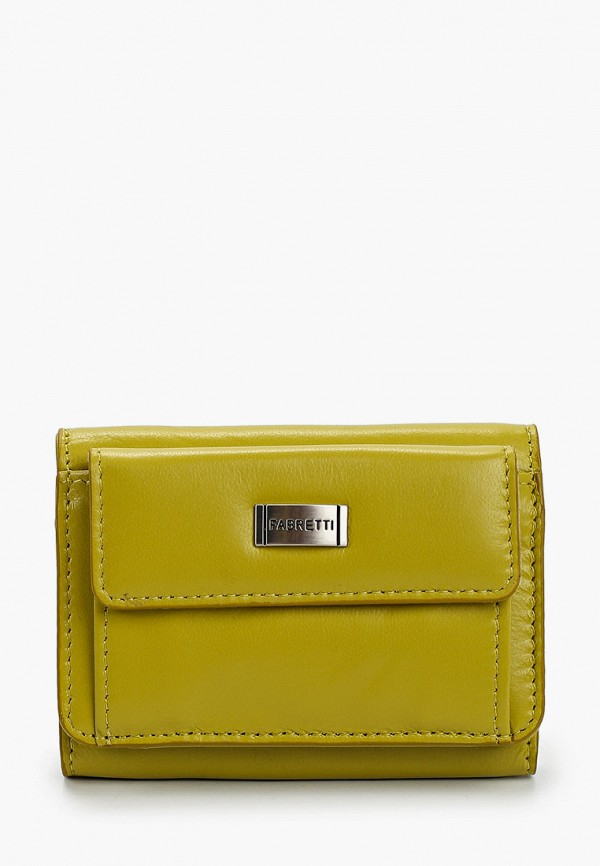 женский кошелёк fabretti, зеленый