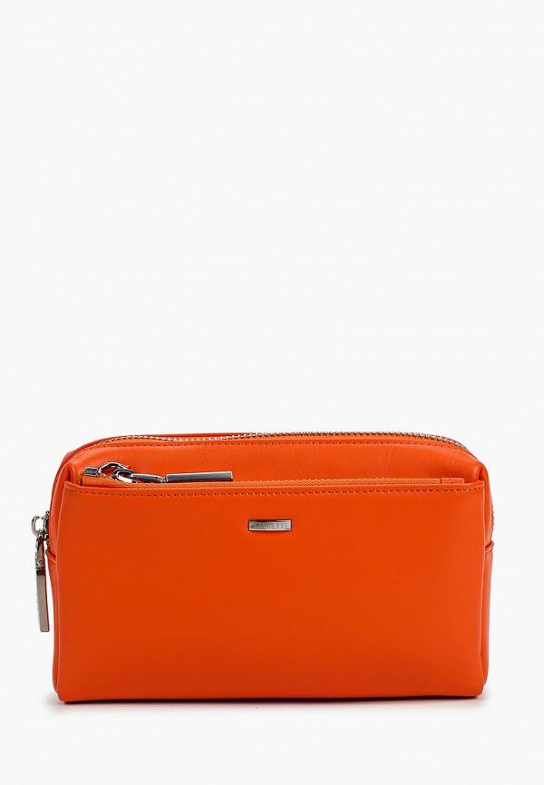 женская сумка fabretti, оранжевая