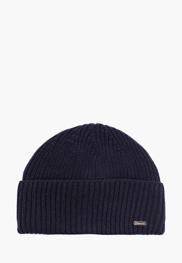 мужская шапка fabretti, синяя