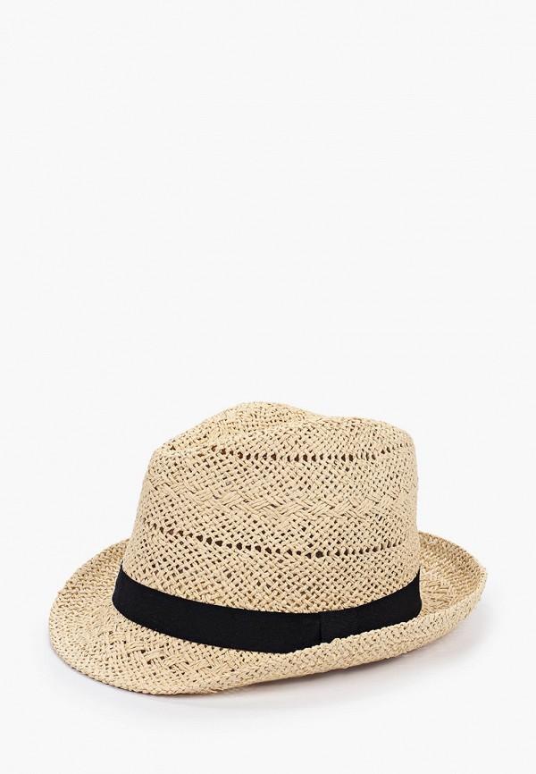 мужская шляпа fabretti, бежевая