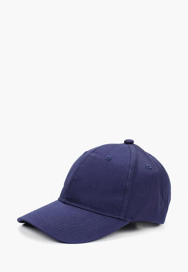 женская бейсболка fabretti, синяя