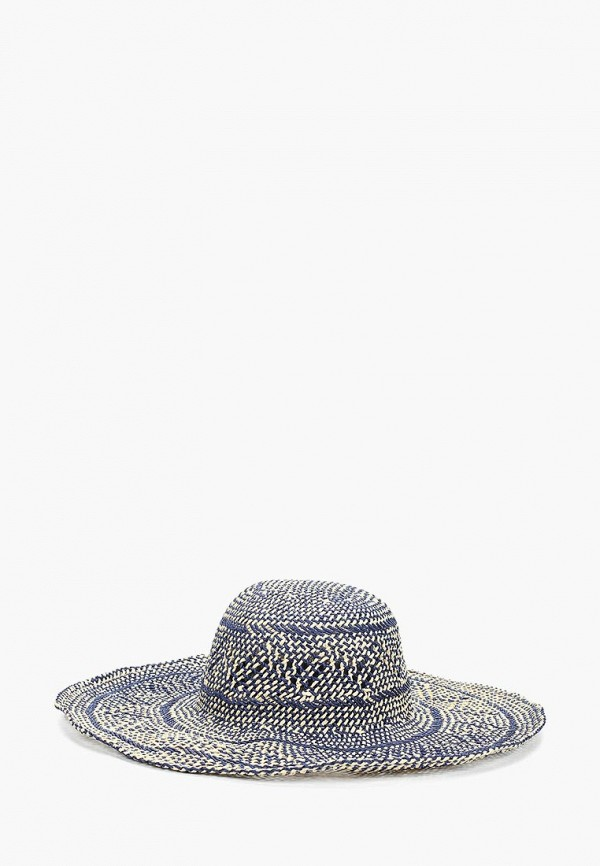 женская шляпа fabretti, голубая