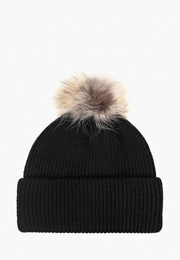 женская шапка fabretti, черная