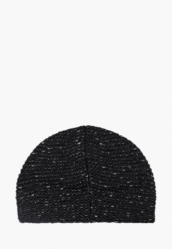 Фото 2 - женскую шапку Fabretti черного цвета