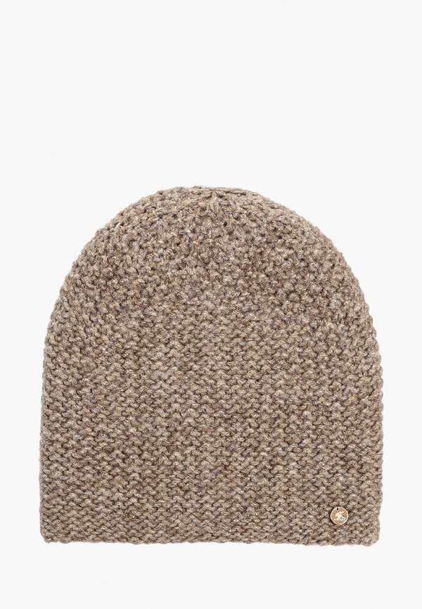 Фото - женскую шапку Fabretti бежевого цвета