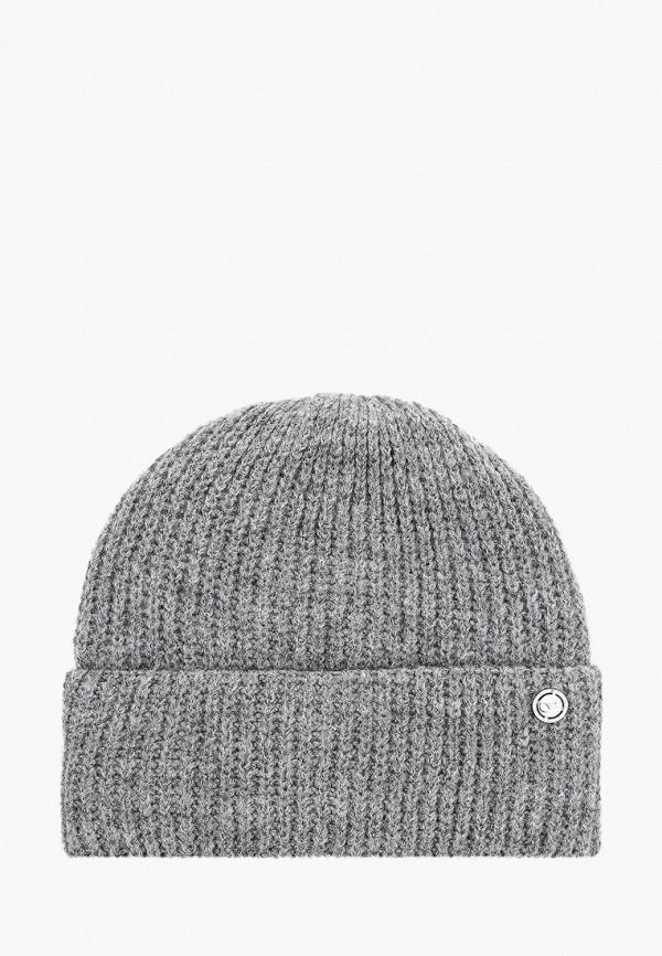 Фото - женскую шапку Fabretti серого цвета