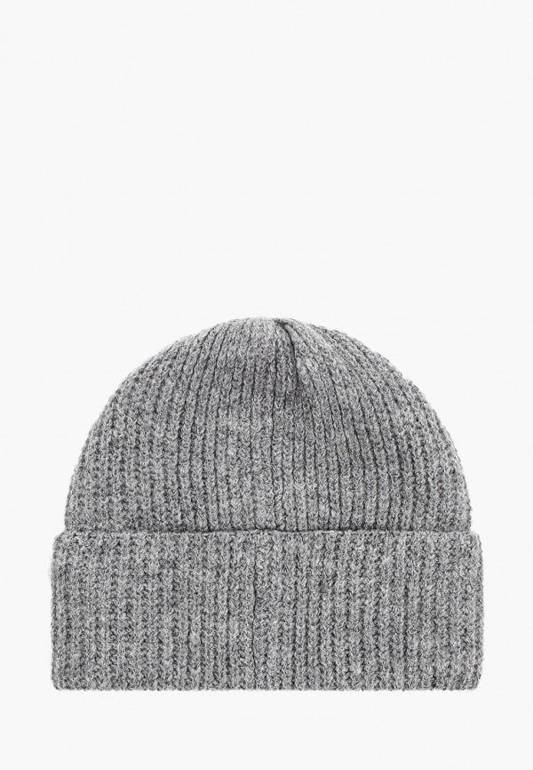 Фото 2 - женскую шапку Fabretti серого цвета