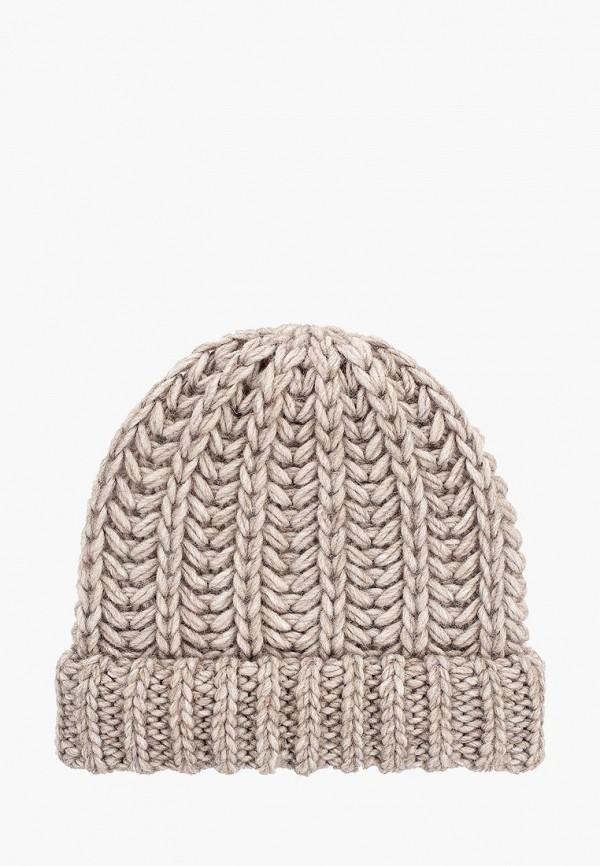 женская шапка fabretti, бежевая