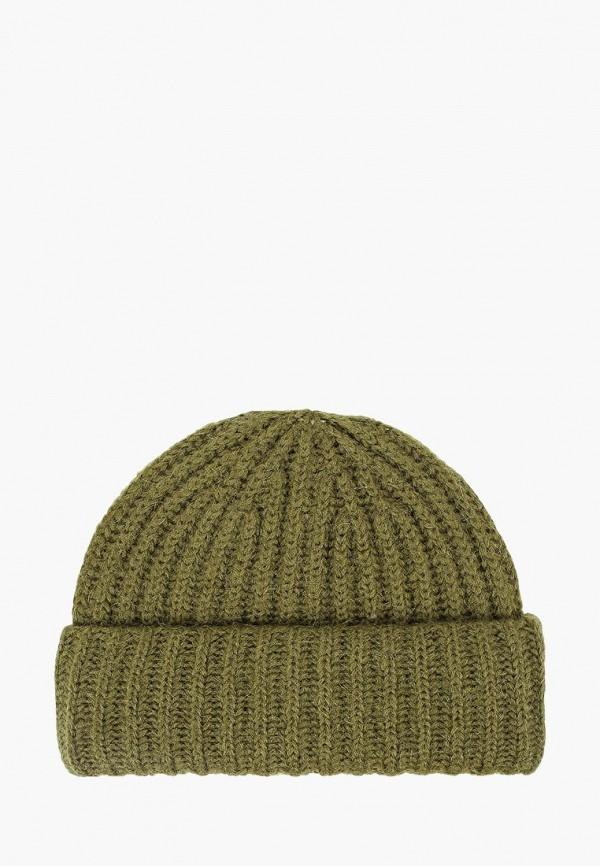 женская шапка fabretti, хаки