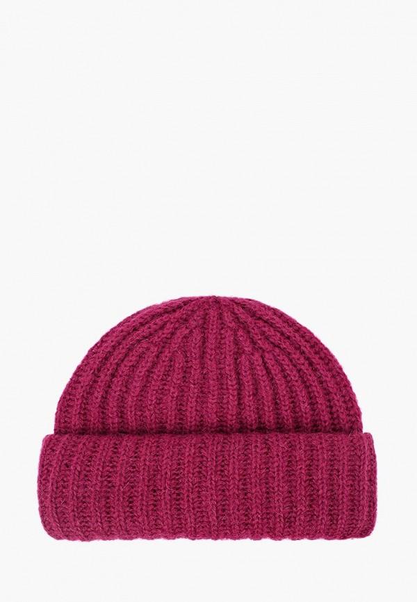 женская шапка fabretti, розовая