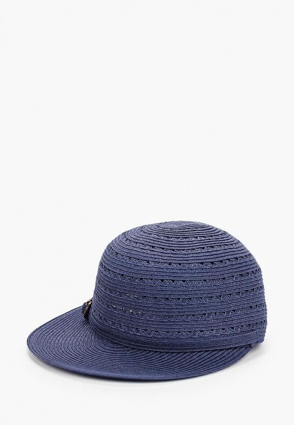 женская кепка fabretti, синяя