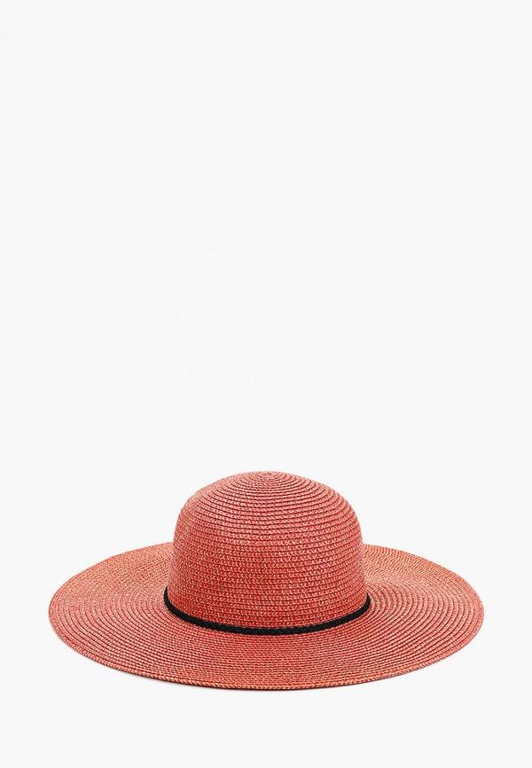 женская шляпа fabretti, красная