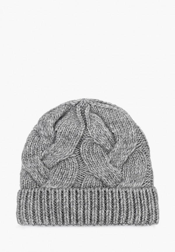 женская шапка fabretti, серая
