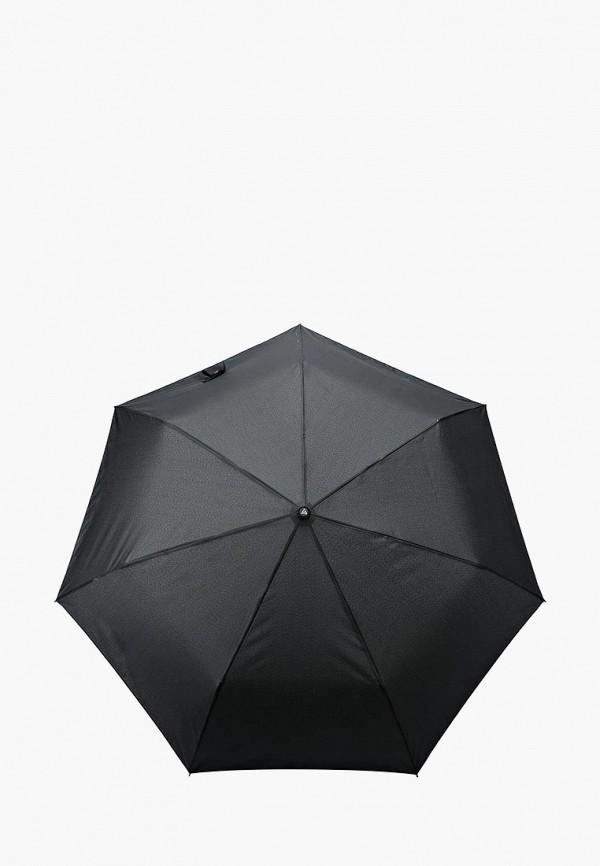 мужской зонт fabretti, черный