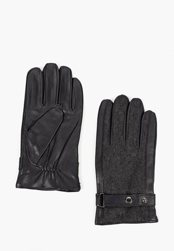мужские перчатки fabretti, серые