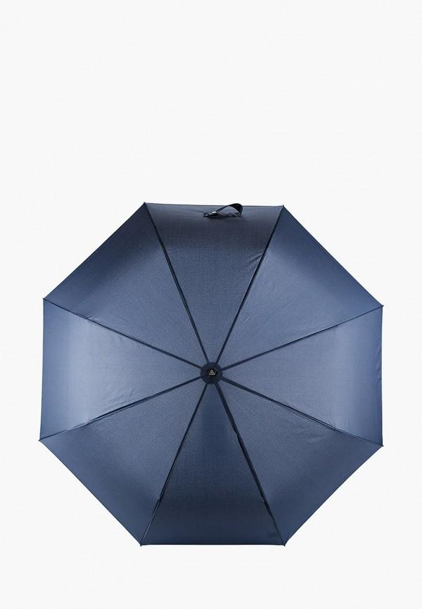мужской зонт fabretti, синий