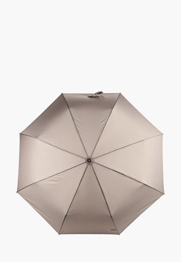 мужской зонт fabretti, серый