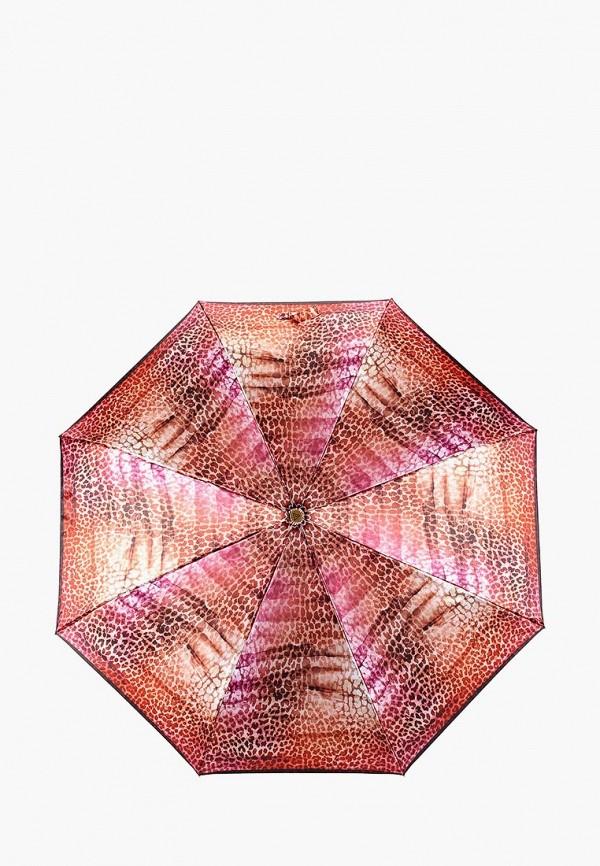 женский зонт fabretti, красный