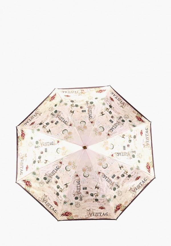 Зонт складной Fabretti Fabretti FA003DWCSAX4 зонт складной fabretti fabretti fa003duvzx48