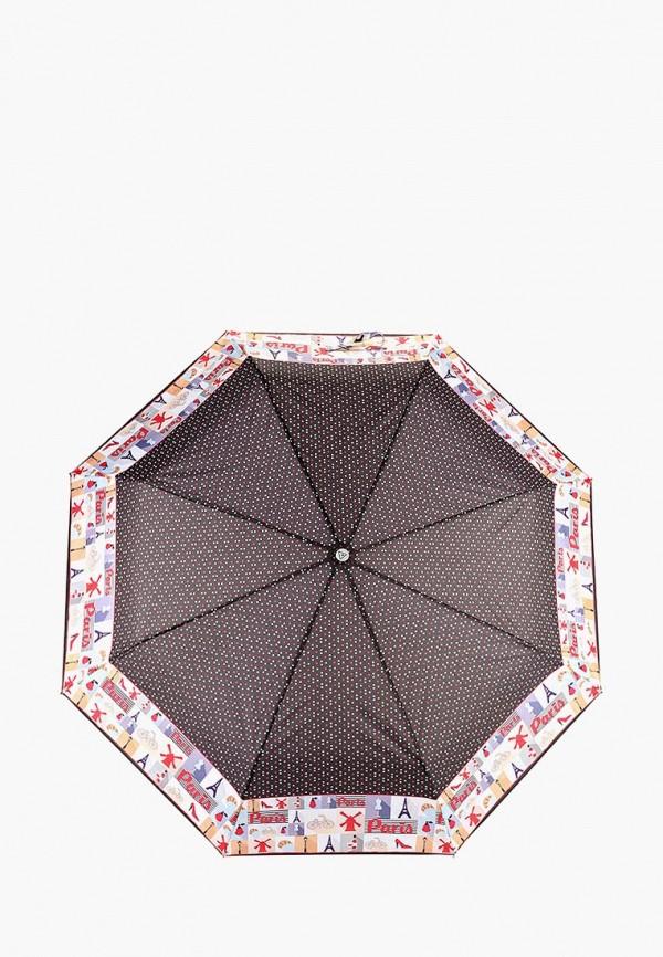 Зонт складной Fabretti Fabretti FA003DWCSBK3 зонт складной fabretti fabretti fa003dwarer4