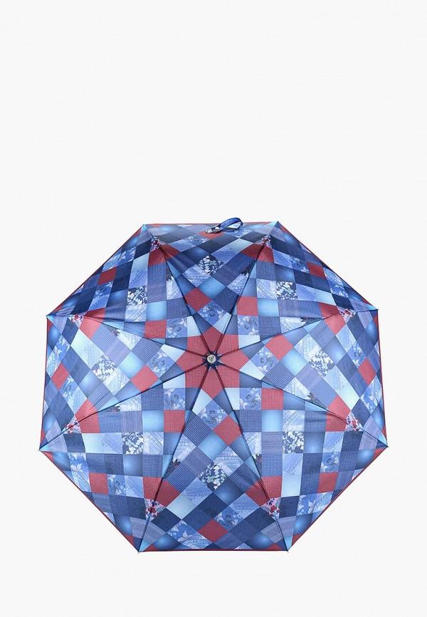Зонт складной Fabretti Fabretti FA003DWCSBL4 зонт складной fabretti fabretti fa003duxxw34