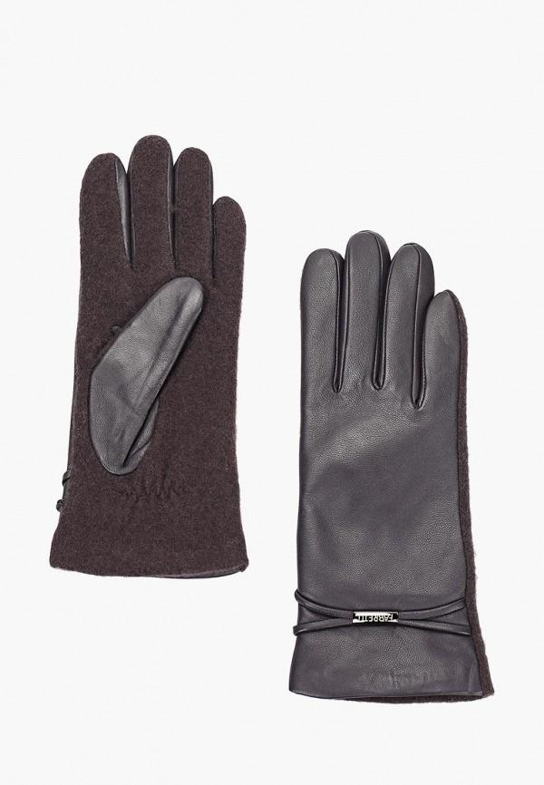 женские перчатки fabretti, фиолетовые