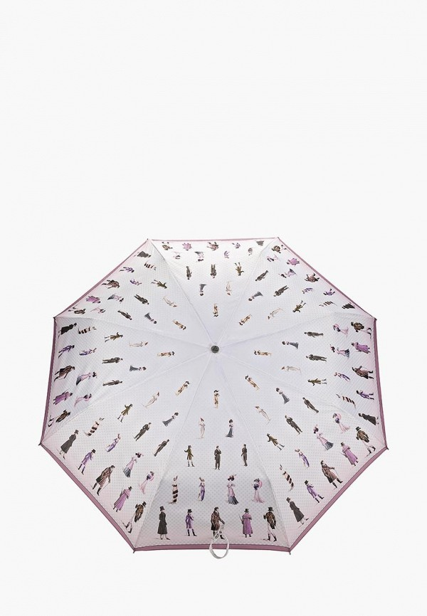 Зонт складной Fabretti Fabretti FA003DWEPQH7 зонт складной fabretti fabretti fa003duvzx48