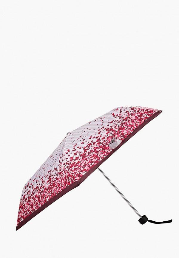 Фото 2 - Зонт складной Fabretti разноцветного цвета