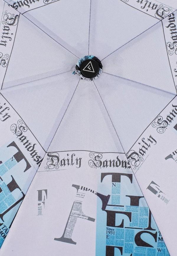 Фото 3 - Зонт складной Fabretti разноцветного цвета