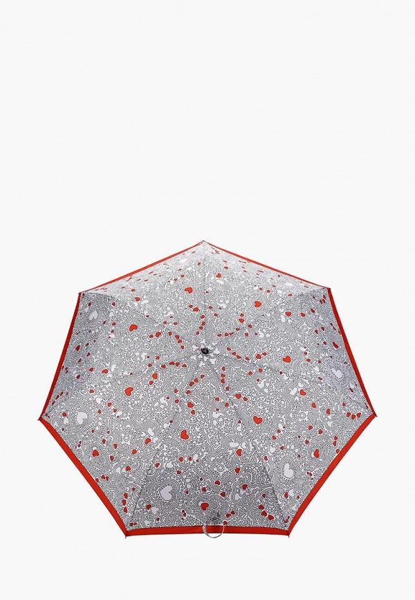женский зонт fabretti, белый