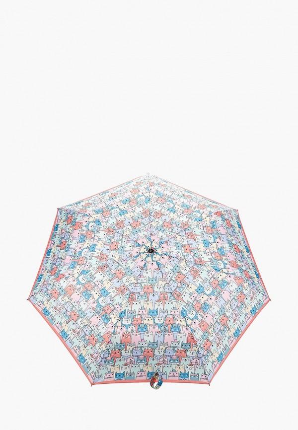 Зонт складной Fabretti Fabretti FA003DWEPQM7 складной зонт автомат по картине моне кувшинки galleria