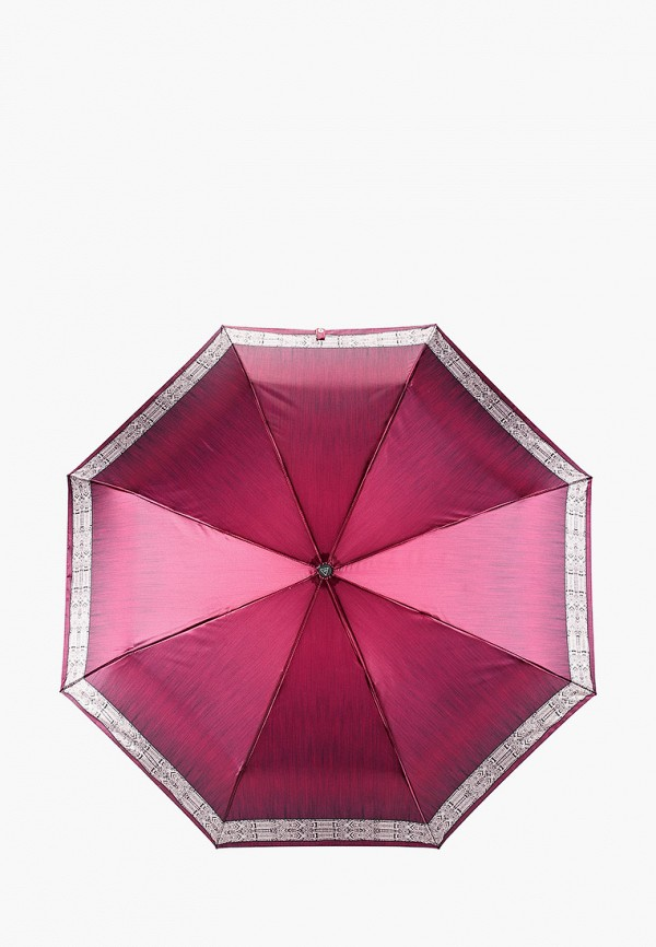 женский зонт fabretti, бордовый
