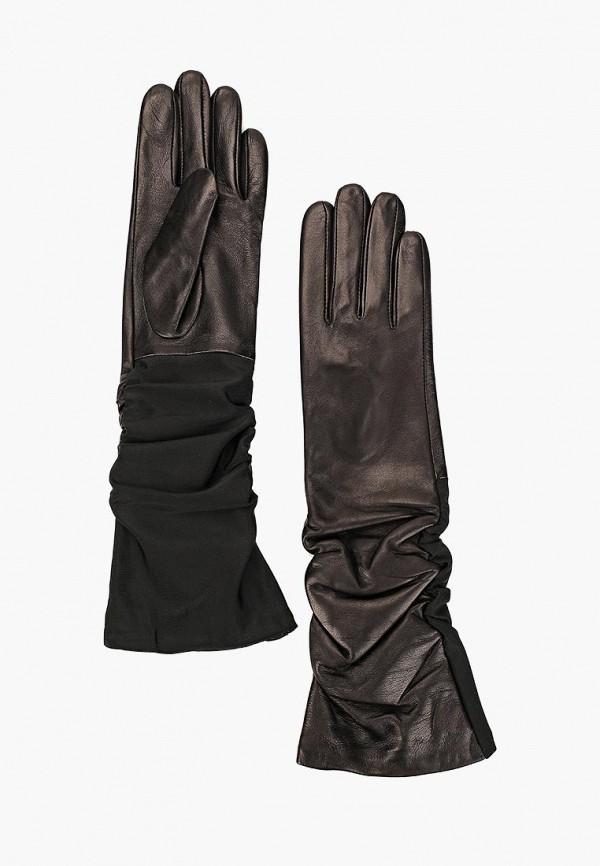 Перчатки  - черный, коричневый цвет