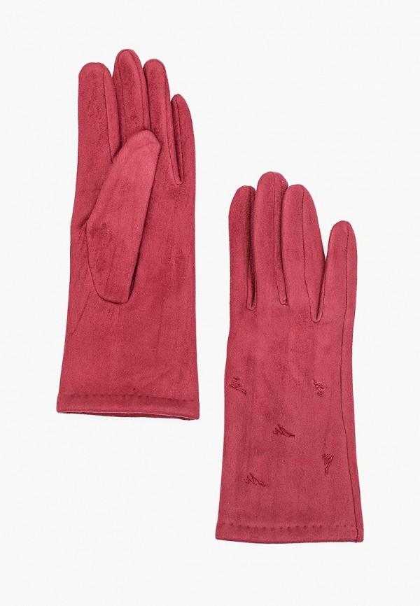 женские перчатки fabretti, бордовые