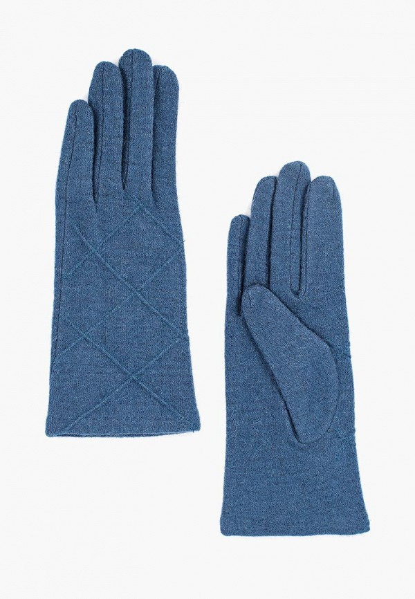 женские перчатки fabretti, бирюзовые