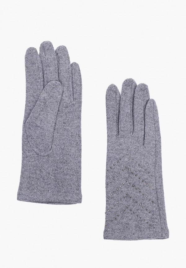 женские перчатки fabretti, голубые