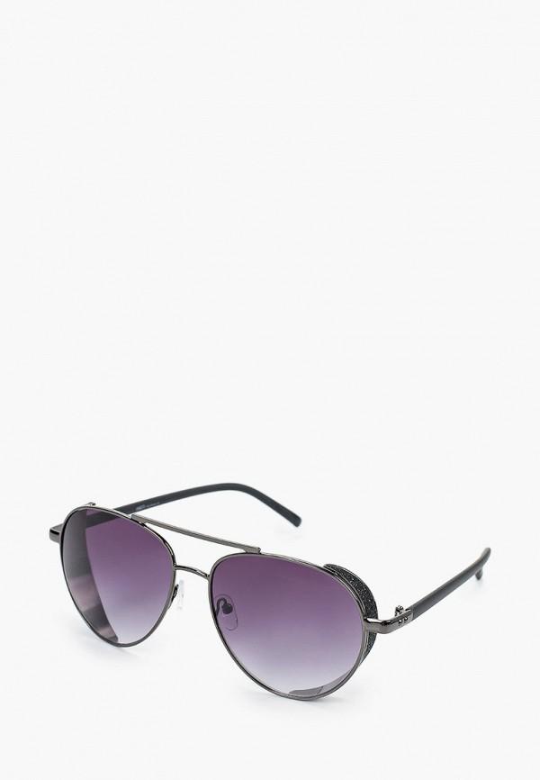 женские авиаторы солнцезащитные очки fabretti, черные