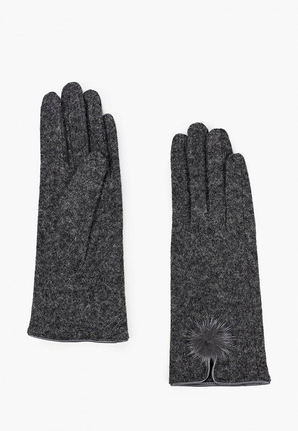 женские перчатки fabretti, серые