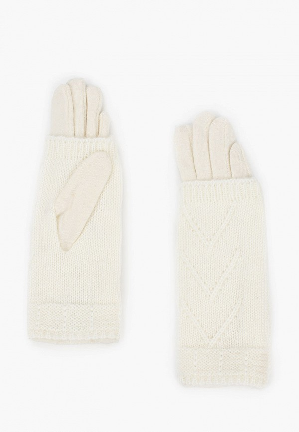 женские перчатки fabretti, белые