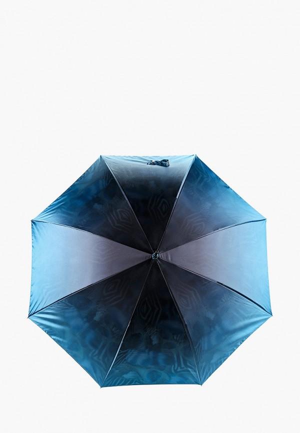 женский зонт-трости fabretti, бирюзовый